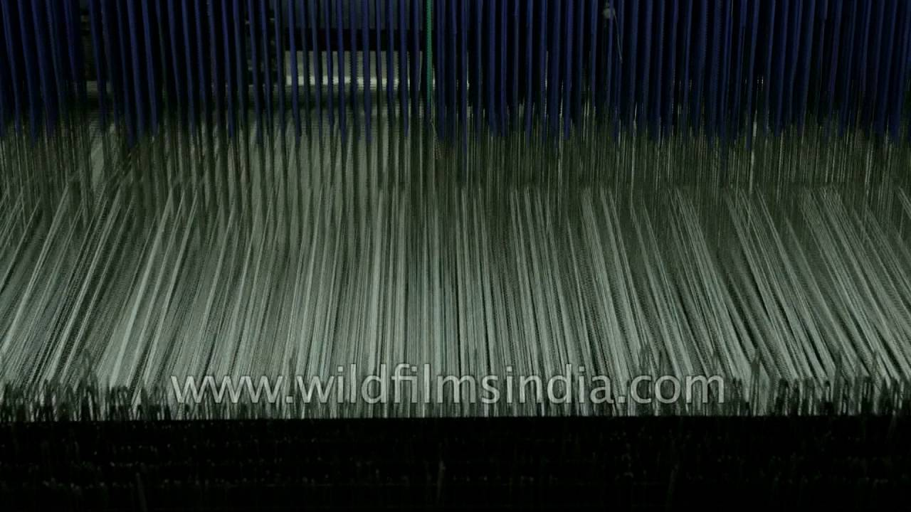 Textile manufacturing process in India