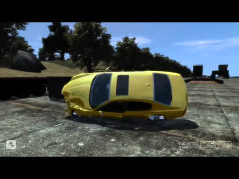 GTA IV LIBERTY CRASH TEST CENTER MAP 2011 + MASERATI QUATTROPORTE SPORT GTS CRASH TESTING HD