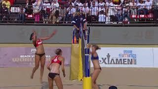 Beach Volleyball, Women-FInal Highlights, WorldTour Xiamen