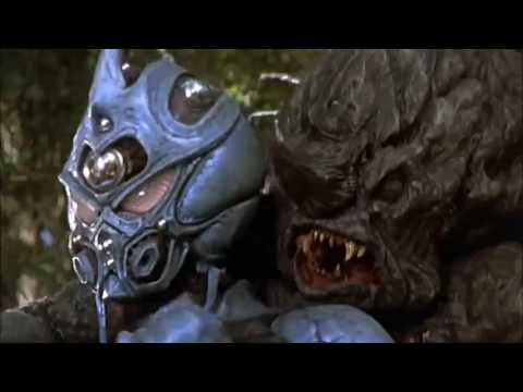 THE GUYVER II 1994 : Battle in the WoodsProtecting Cori.