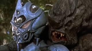 THE GUYVER II [1994] Scene: Battle in the Woods/Protecting Cori.