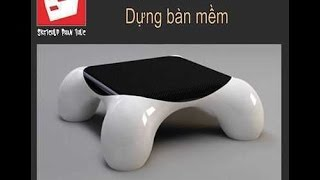 Sketchup Tutorial: Modeling Table - Dựng Bàn Mềm - Artisan