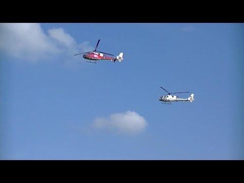 shuttleworth-fly-navy-airshow-2018:-westland-gazelles