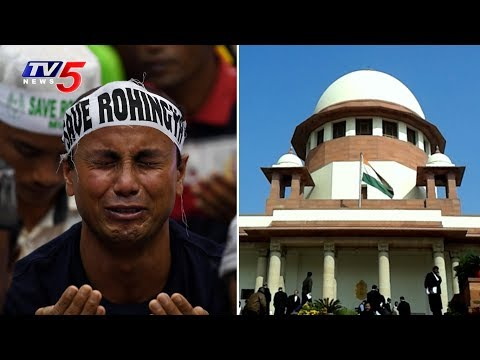 Centre to Supreme Court on Rohingya Muslims Links with Pak | Hearing on October 3rd Again | TV5 News