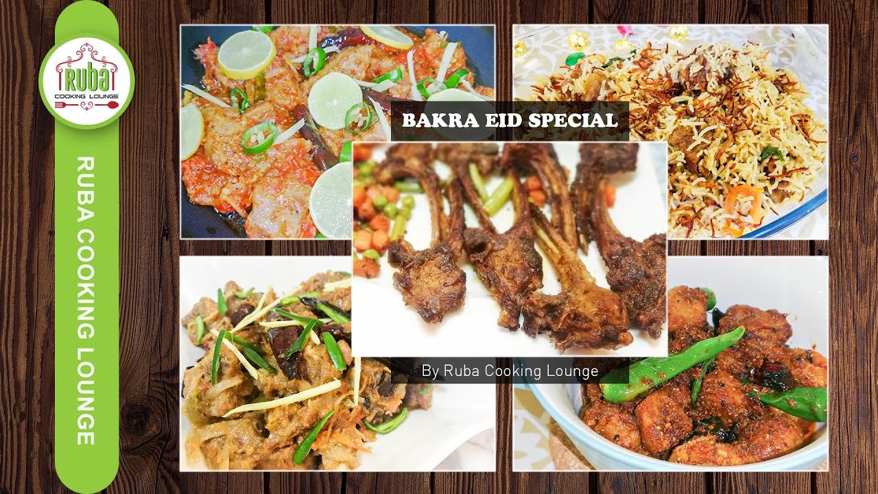 Bakra Eid Special Recipes by Ruba Cooking Lounge