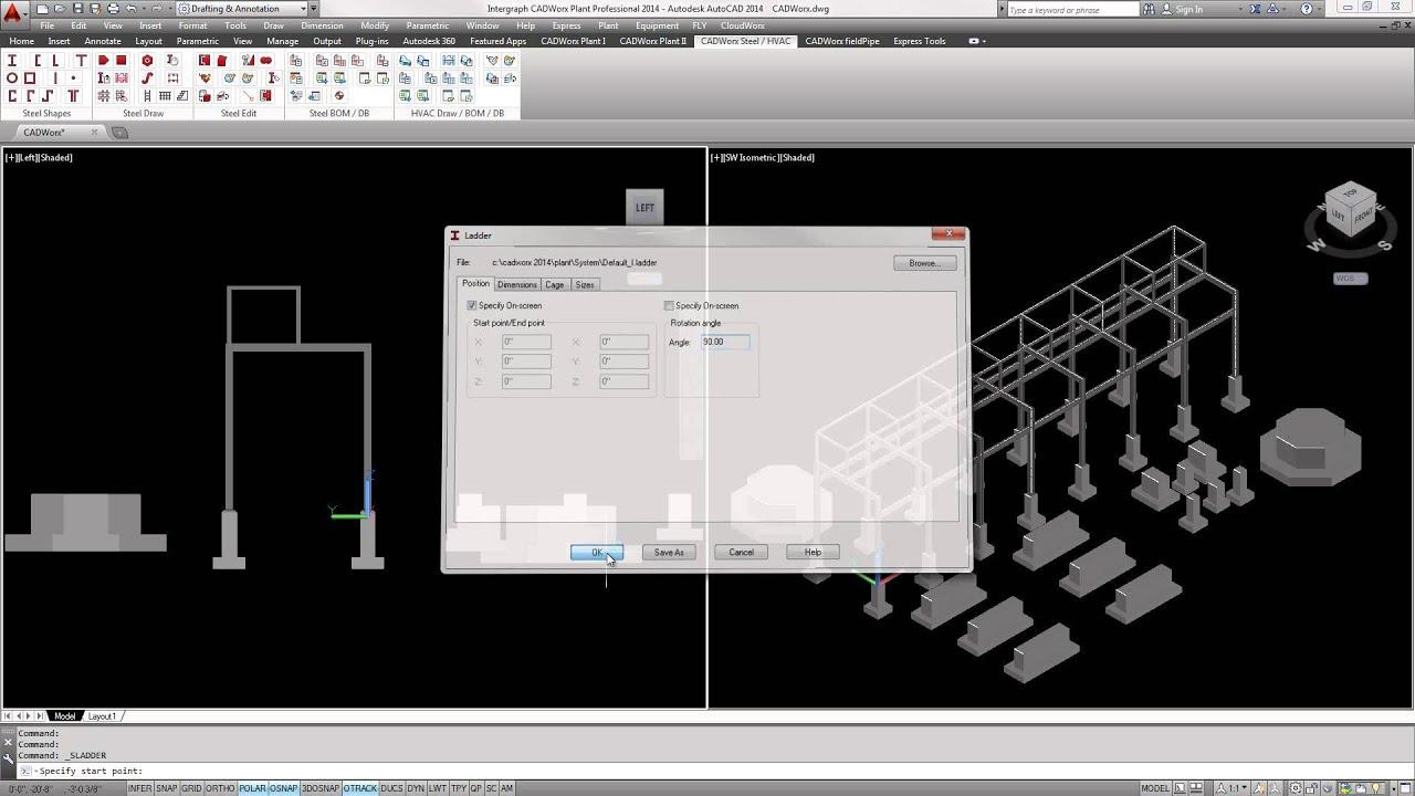 cadworx plant professional steel overview youtube rh youtube com CADWorx Training Live CADWorx Training DVD