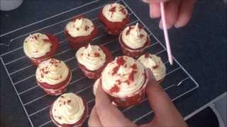 Red Velvet Cupcake for Valentines Day
