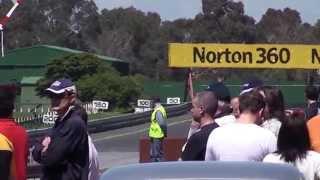 Mitsubishi GTO at Sandown raceway, Australia