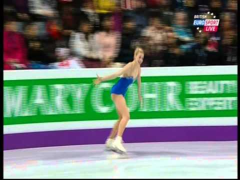 Gracie Gold - 2013 World Championships - LP