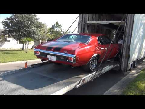 MY 1970  CHEVROLET CHEVELLE SS 396 ARRIVAL 12-22-14.