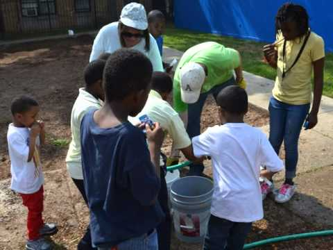 Potomac Gardens Gets a New Playground