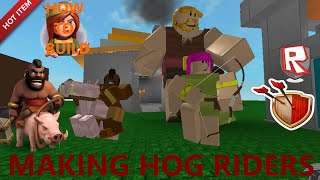Premium Video: How to make Hog Riders on ROBLOX (Clash of Clans)