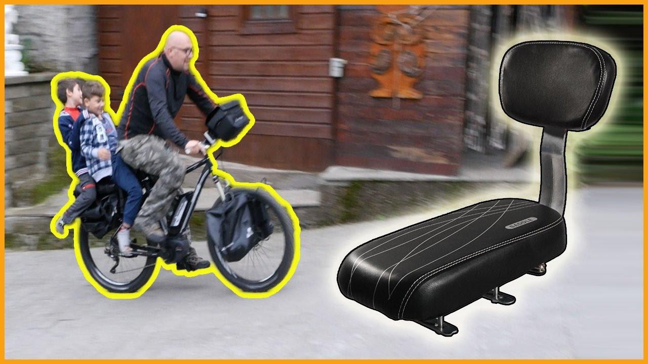 Seggiolino bici per bambini grandi con schienale youtube - Tavolino con sedia per bambini ...