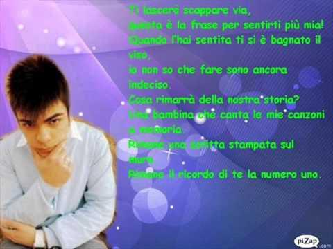 Mattia Cerrito - Non posso piu tornare + testo
