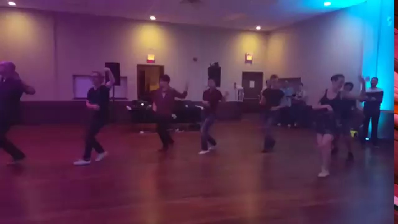 At Fly Right Swing Calgary Dancers do Mama's Stew - YouTube