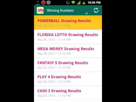 Florida lottery pick 4 midday results