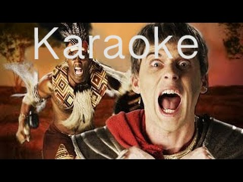 [Karaoke] Shaka Zulu vs Julius Caesar. Epic Rap Battles of History Season 4