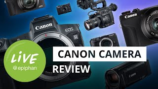 Best Canon cameras for live streaming