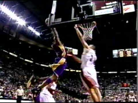 Kobe Bryant Sick Alley-Oop Dunk Over Viktor Khryapa