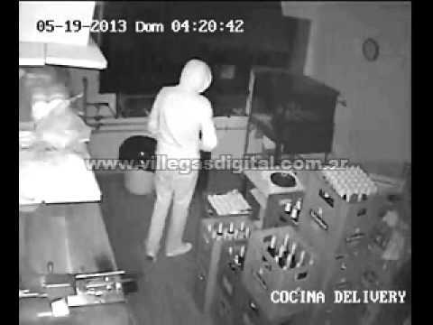 C maras de seguridad registran el robo en la cocina del - Robo de cocina ...