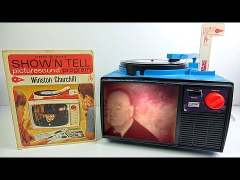 Show N Tell  1960s Childrens Multimedia System