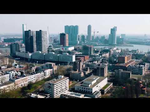 Rotterdam During Quarantine (DJI Mavic Air Drone)