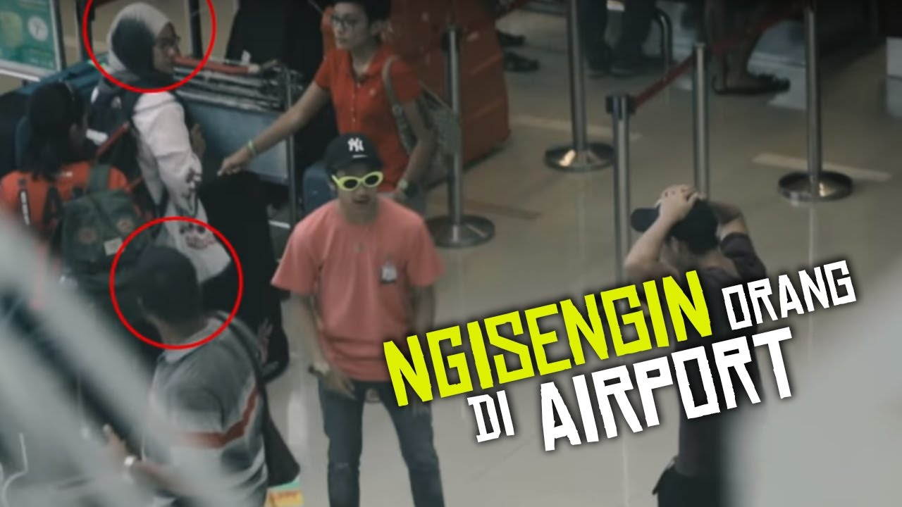Ngisengin Orang Di Airport | Vlog Belitong #2