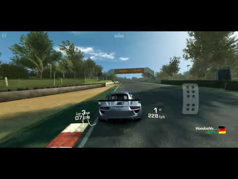 Real Racing 3 EAST/WEST Throwdown Race 9 Cup In Porsche 918 RSR Concept