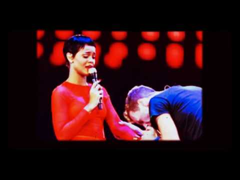 Rihanna and Chris Martin - let her go