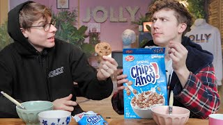 America's WEIRDEST Candy Cereal Collabs!? (ft. Twinkie Cereal😱)