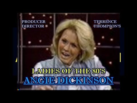 ANGIE DICKINSON - {POLICE WOMAN)