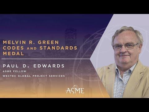 2017 ASME Honors: Paul D. Edwards