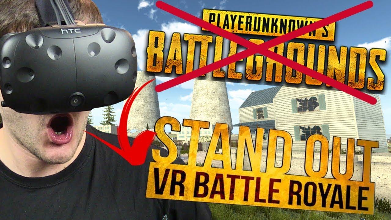 """""""PODRÓBKA"""" PUBG w VR –  STAND OUT: VR Battle Royale (VR HTC VIVE)"""