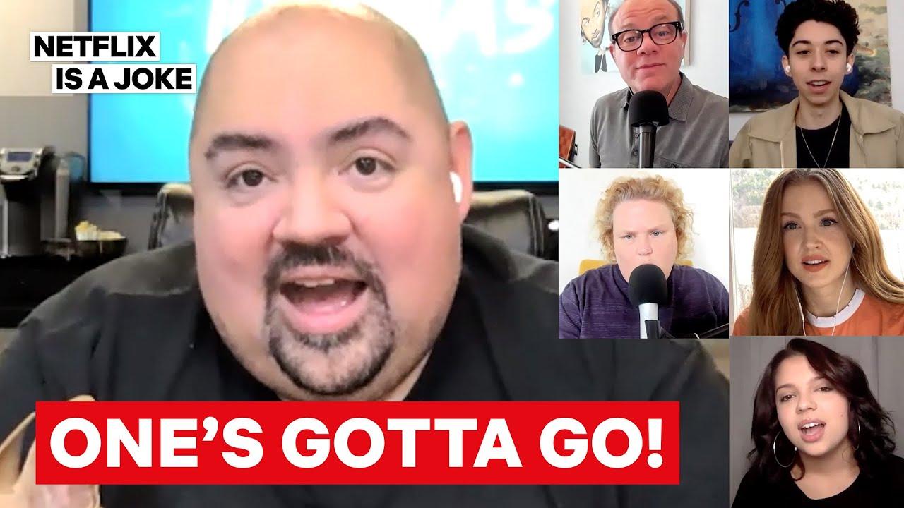 Gabriel Iglesias And The Cast of Mr. Iglesias Play One's Gotta Go | Netflix Is A Joke
