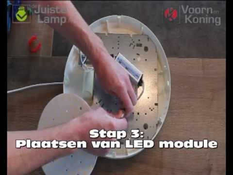 Plaatsen ronde led module w youtube