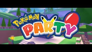 POKEMON PARTY TEASER - My New Pokemon Roblox Game
