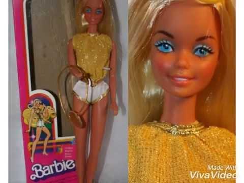 1979 barbie golden nights doll review 80s golden nights barbie