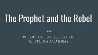 XA Thursday Night Live - The Prophet and the Rebel