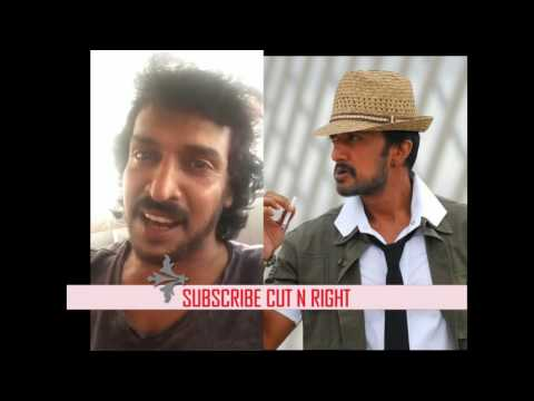 Uppi & Sudeep Straight Forward Video Tweets About Yash Dialogue
