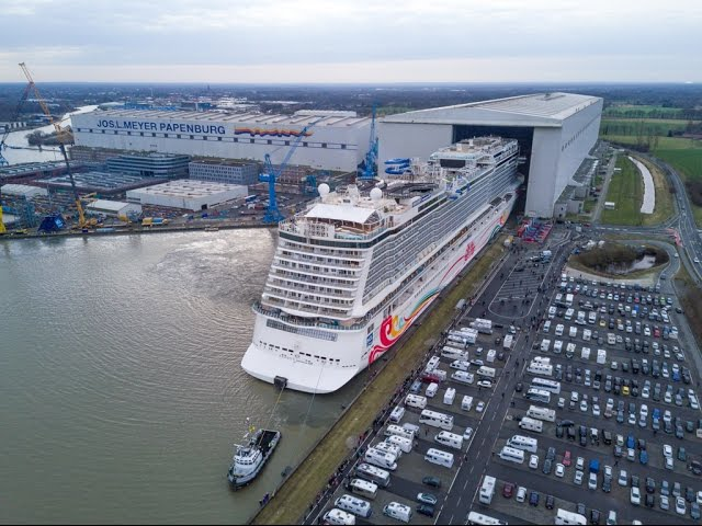 First Ever Cruise Ship With A GoKart Track Onboard - Track a cruise ship