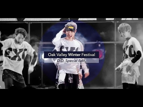 [LIVE] EXO「Growl / First Snow / 3.6.5」D.O. Special Edit. from Oak Valley Winter Festival