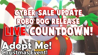 🔴LIVE! ADOPT ME ROBO DOG RELEASE COUNTDOWN! +TRADING! (ROBLOX)