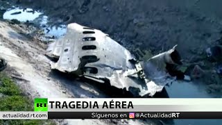Se estrella un avión de pasajeros ucraniano cerca de Teherán
