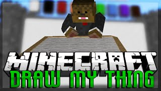 THE PANDA COW Minecraft Draw My Thing w/ BajanCanadian & JeromeASF!