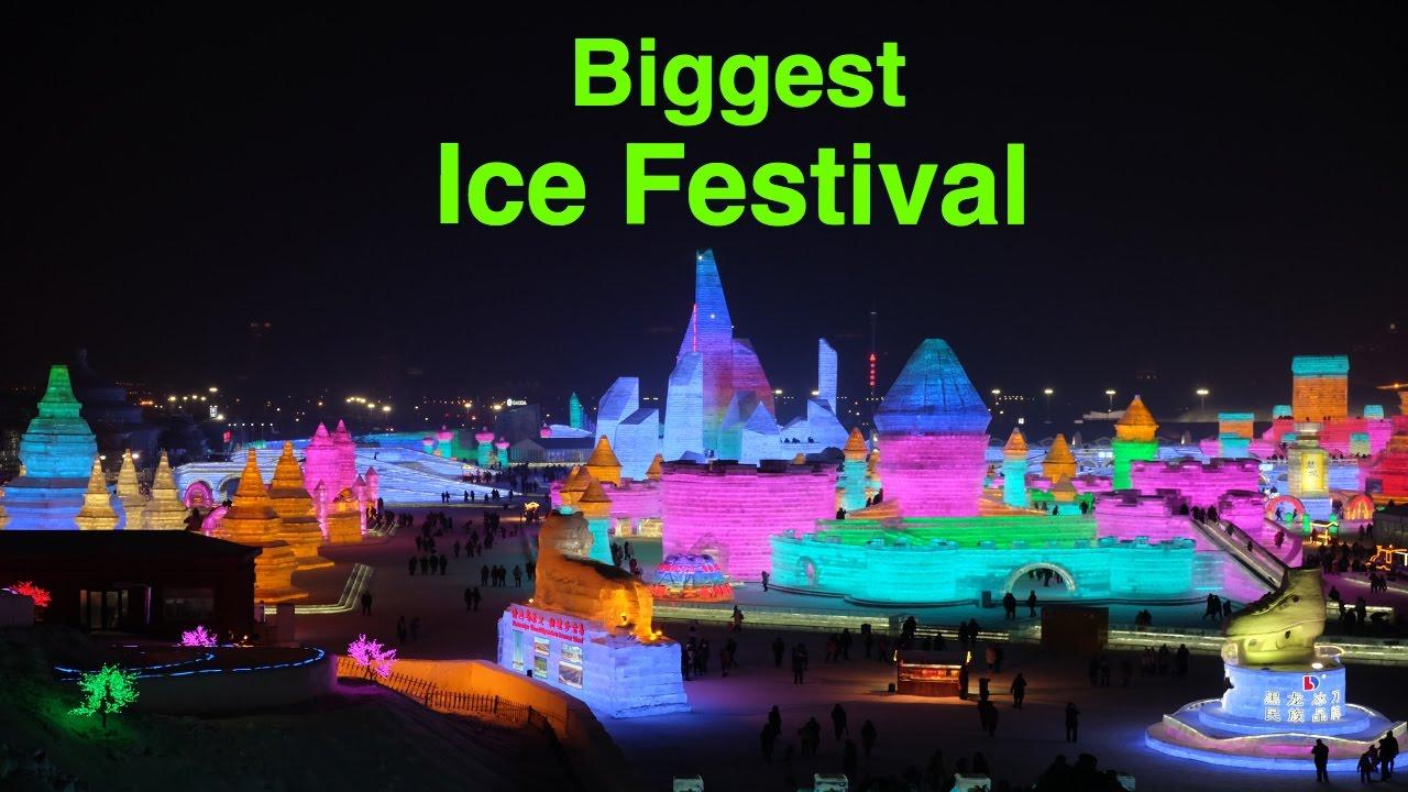Harbin Ice & Snow Festival 2017
