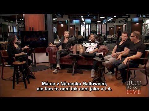 HuffPost Live: Tokio Hotel - 14.08.2015 #CZ