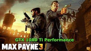 [Max Payne 3] [PC] [i7 7700K] [GTX 1080 Ti] [4K]