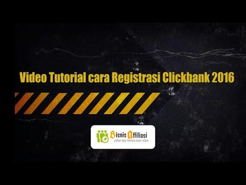 Cara Registrasi Clickbank terbaru 2016