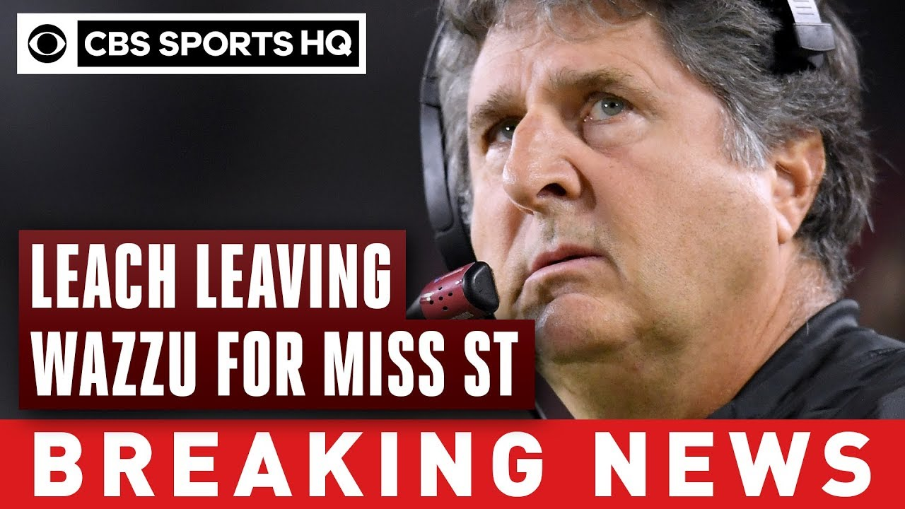 Mississippi State hires Washington State's Mike Leach to be next head coach | CBS Sports HQ