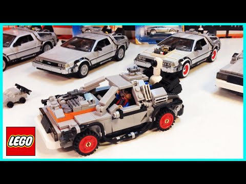 Lego Cuusoo 4 Set 21103 Back To The Future Delorean Time